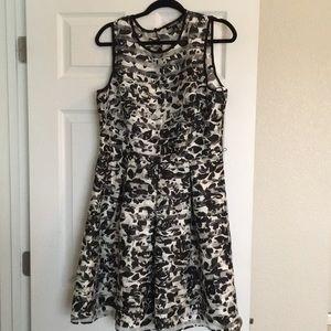 💥 Black & White Dress